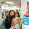 A child enjoys the scavenger hunt at the Summer Reading Club Opening Celebrations at LON, June 28 2014.
