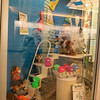 Window display for the Summer Reading Club Opening Celebrations at LON, June 28 2014.