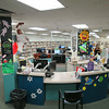Decorations and displays for the Summer Reading Club Opening Celebrations at LON, June 28 2014.