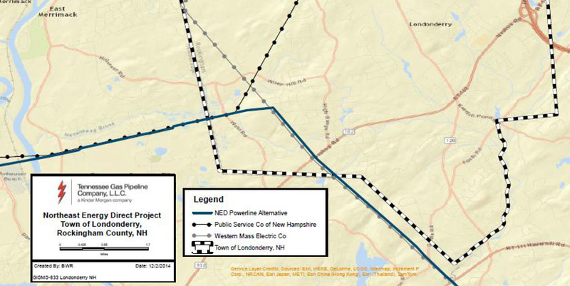 Londonderry_Powerline_Project_path