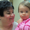 Lorelei and Nana at Nana's office