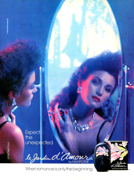 MAX FACTOR Le Jardin d'Amour 1987 'Expect the unexpected - When romance is only the beginning'