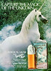 MAX FACTOR Magical Musk by Toijours Moi 1983-1985 Canada 'Capture the magic of the unicorn - The fragrance of hidden powers' bis