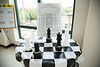 "6 Marian participated in the Open House for MAGNET recognition in Holy Name Medical Center by creating a ""Chess"" themed room at HNMC. 7/29/14  Photo by Victoria Matthews/Holy Name Medical Center"