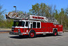 WORCESTER LADDER 6 - 1988 EMERGENCY ONE 110' EX-CONCORD MASS