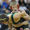 Anchor Bay's Jack; Medley gets a win in the 112-pound championship match over Dakota's Layne Malczewski to help lead Tars team title.