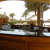 The bar at the Beach Club.