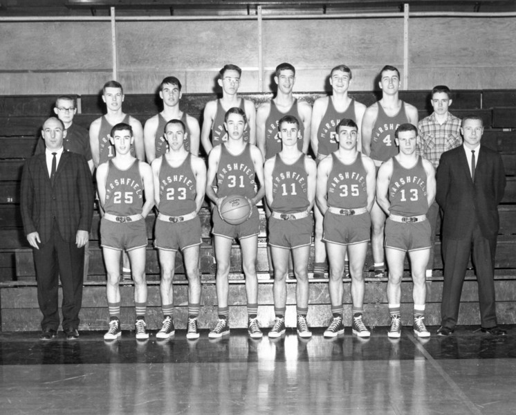 1964 Marshfield Boys Basketball: 2nd District