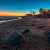 Sunset at Walnut Beach , Milford, Connecticut, USA.