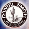 Daniel Smith logo.  People ask why a Seattle company has a cactus in the logo.  At the factory tour last week, were were told that Daniel Smith just likes cacti.