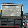 "Seen on a truck at a stop light: it has the Seattle Seahawks 12th Man;  I think the ""drawing"" is supposed to represent Beast Mode"