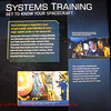 Space Flight Academy:  display about Astronaut training