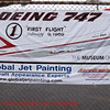 Global Jet Painting's info banner