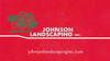 Johnson Landscaping - Tracie Albright - 1