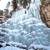 Frozen 11th Hour Gulch in Spearfish Canyon