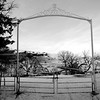 Gate to the Cedar Hill Cemetery near Ft. Pierre