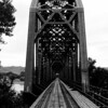 Train bridge in Pierre