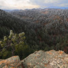 View from Lover's Leap in Custer State Park
