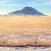 Bear Butte in winter