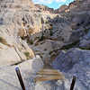 Notch trail in Badlands National Park