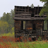 Old house in the ghost town of Preston in the Black Hills