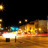 Downtown Spearfish at night
