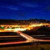Night time in Spearfish