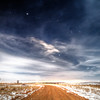 Night sky near Oahe Dam