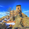 Harney Peak lookout tower