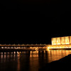 Night time at Oahe Dam