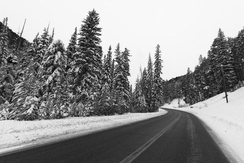 Highway 85 south of Spearfish Canyon