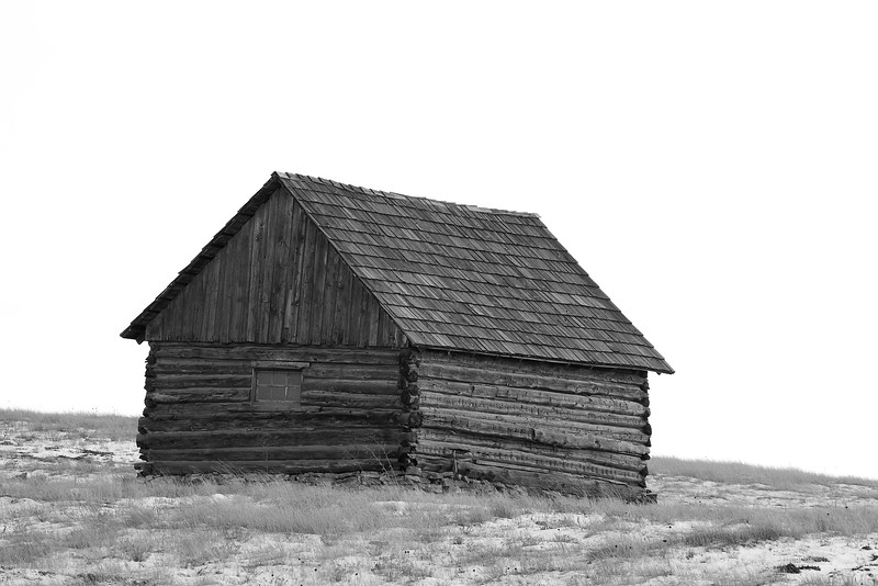 Old cabin near Spearfish