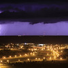 Lighting over Pierre