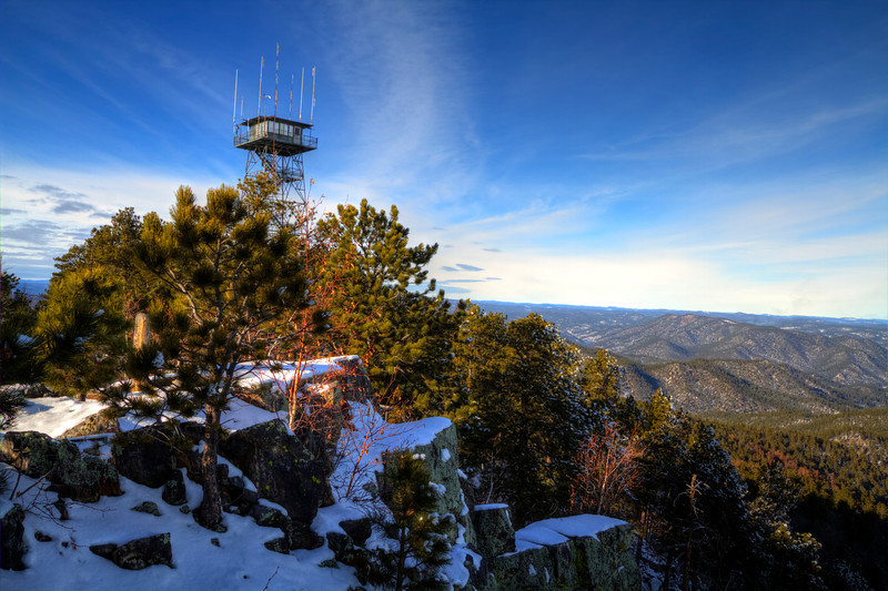 Seth Bullock Lookout Tower in the Black Hills