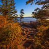 Trail to Thunder Hole in Acadia National Park