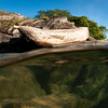 Traditional canoe on Lake Malawi