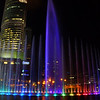 Our feature travel photo of the day is of the magnificent water color display at night going on just outside the base of the Petronas Towers in Kuala Lumpur.