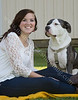 Catie and Doogie -Senior Picture - Image ID # 8009