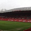 a wide view of  Old Trafford