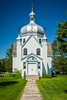 The new St. Michael's Ukrainian Greek Orthodox Church in Gardenton, Manitoba, Canada.
