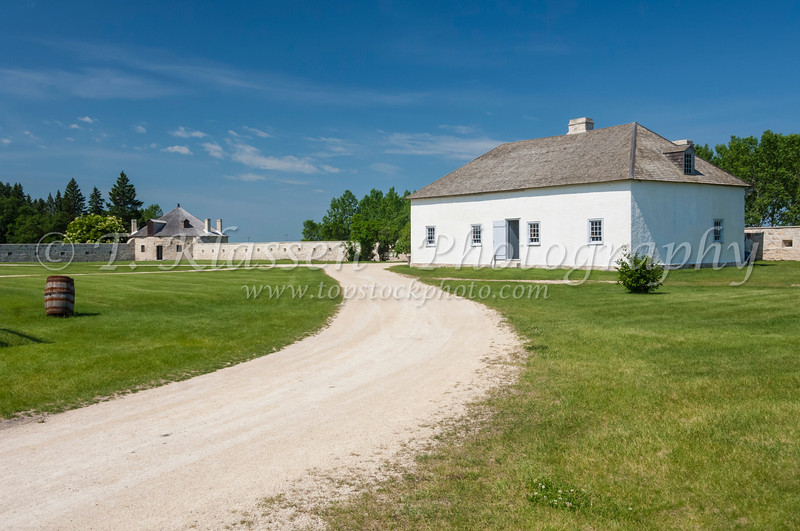 Lower Fort Garry National Historic Park near Lockport, Manitoba, Canada.