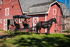 Horse and buggy rides are offered at the Mennonite Heritage Village in Steinbach, Manitoba, Canada.