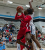 #3 Chris Smith goes up for two in Legacy's win against top ranked Seguin High School.  (Courtesy of Rodney Rodgers)