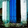 Blue Door of Church