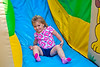 Mia at the bottom of the slide - 2014-08-09
