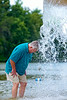 Granddad going under the water - 2014-06-28
