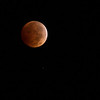 Blood Moon during eclipse
