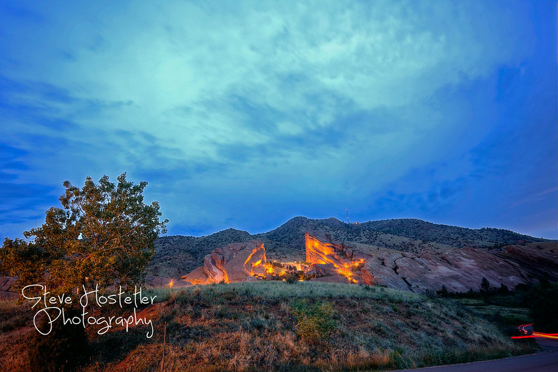 Red Rocks Park, Morrison Colorado - Dusk