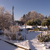 Waterwise Garden in the Snow at SOREC