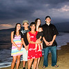 Pelakai family portrait,beach,hawaii,sunset Maui beach portrait photography, Lahaina, Hawaii